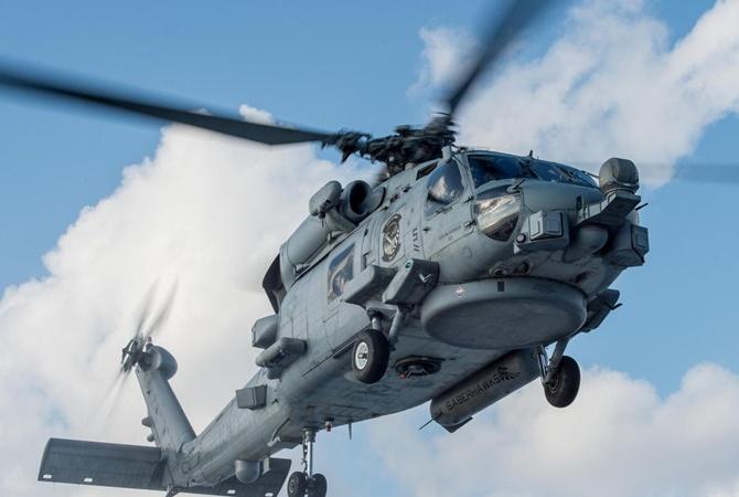 ВТихом океане потерпел крушение военный вертолёт США