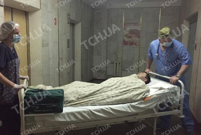 После операции Насирова забрали вреанимацию