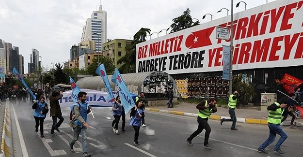 ВСтамбуле 2-х женщин задержали запопытку установить баннер наплощади