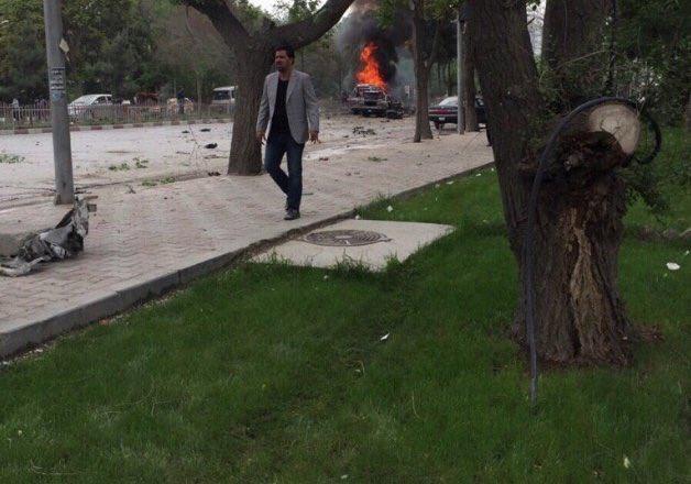 ВКабуле упосольства США произошел взрыв