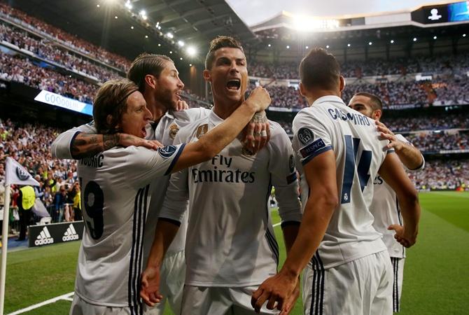 «Реал» уверенно переиграл «Атлетико» впервом полуфиналеЛЧ