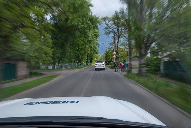 Подрыв авто ОБСЕ: опубликованы кадры взрыва