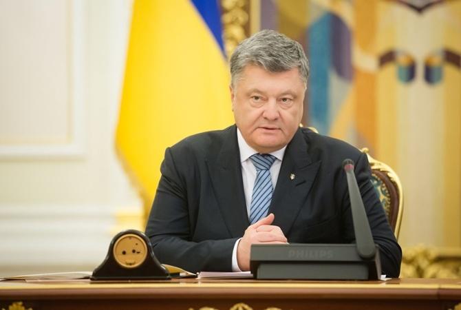Порошенко: ВоенныеРФ тайно пересекают границу государства Украины, чтобы заливать украинскую землю кровью