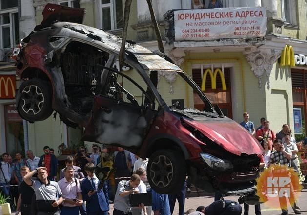 Фигуранта дела Шеремета Устименка сократили изведомства впрошлом году — СБУ