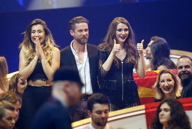 Участнице «Евровидения-2017» сделали предложение впрямом эфире