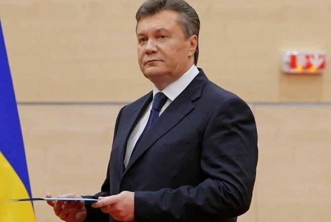 Янукович поведал онамерении лично допросить Порошенко иЯценюка