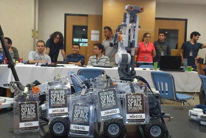 Команда изДнепра угодила вТОП-8 интернационального конкурса НАСА