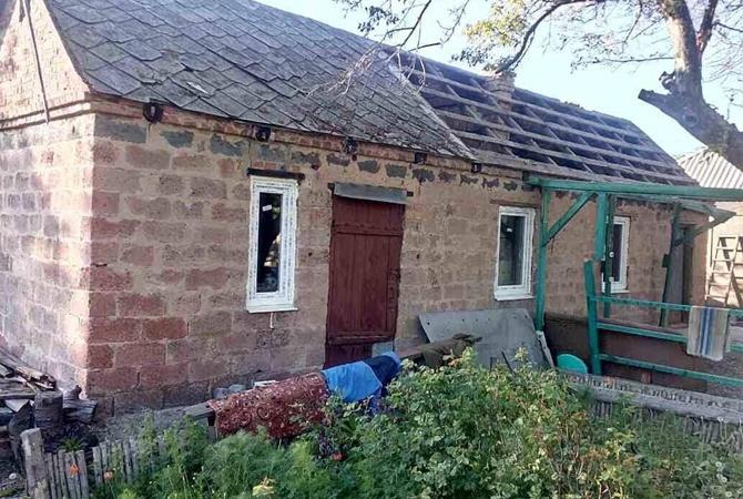 Жебривский обещает восстановить дома вАвдеевке досередины лета