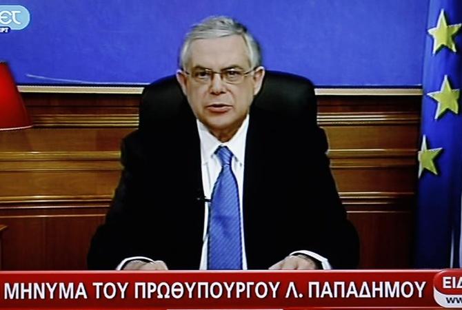 ВАфинах взорвали машину бывшего премьер-министра Греции