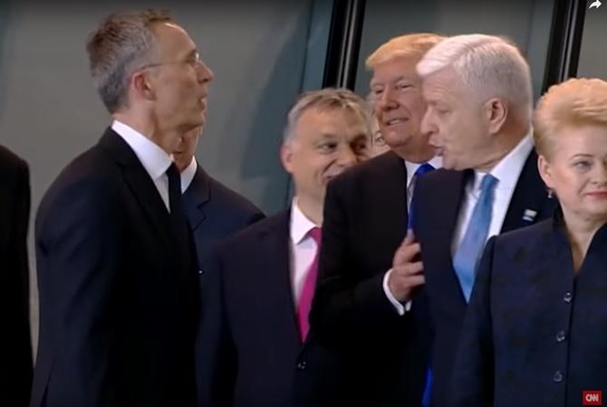 Трамп объявил, что члены НАТО начали больше вкладывать всоюз