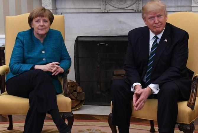Меркель играет против Трампа— РФ встороне