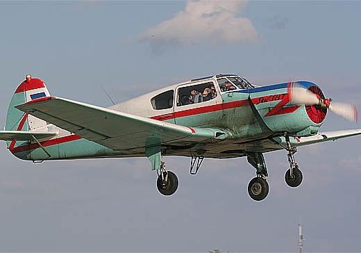ВПодмосковье разбился легкомоторный самолет