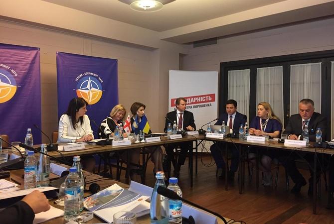 Президент Грузии попросил НАТО посодействовать укрепить систему нацбезопасности