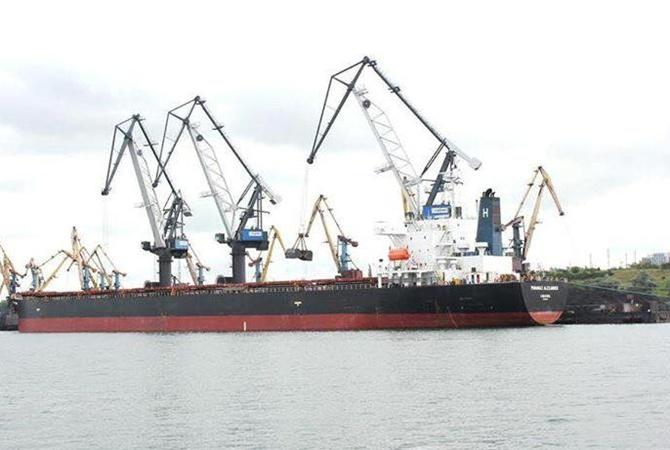 ВУкраинском государстве разгрузили первую партию угля изАфрики