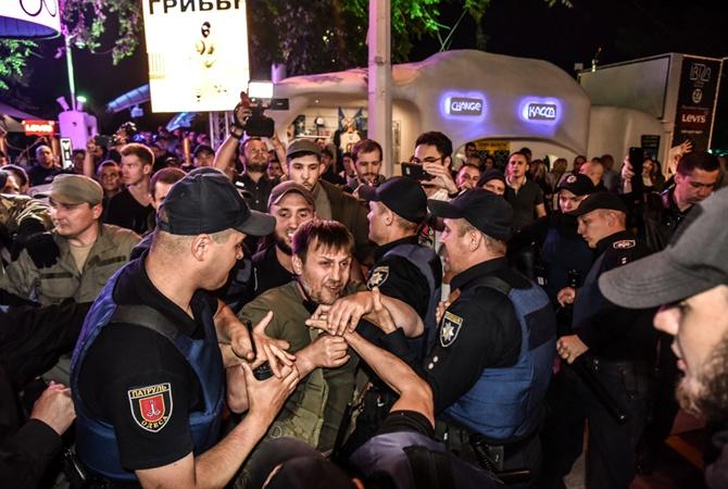 ВОдессе здешние активисты сорвали концерт Лободы из-за еевыступлений в РФ