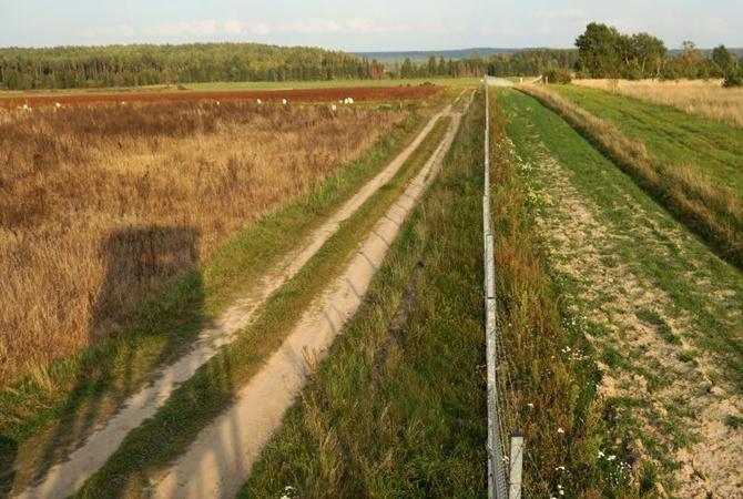 Забор за1.3млневро начнет строить Литва на русской границе