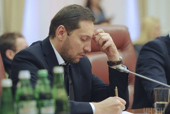 Юрий Стець подал вотставку споста министра информполитики Украинского государства