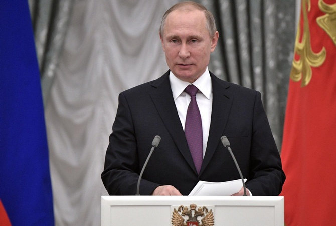 Путин: навсе действия НАТО РФ даст адекватный ответ