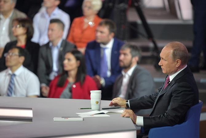 Путин отреагировал наслова Порошенко о«немытой России»