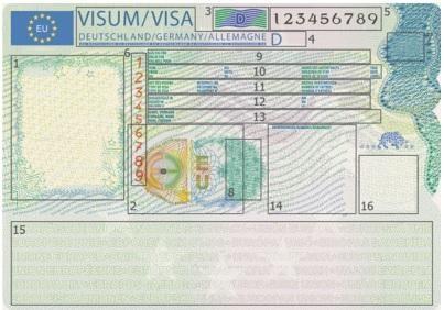 ВЕС вводят новый дизайн шенгенской визы