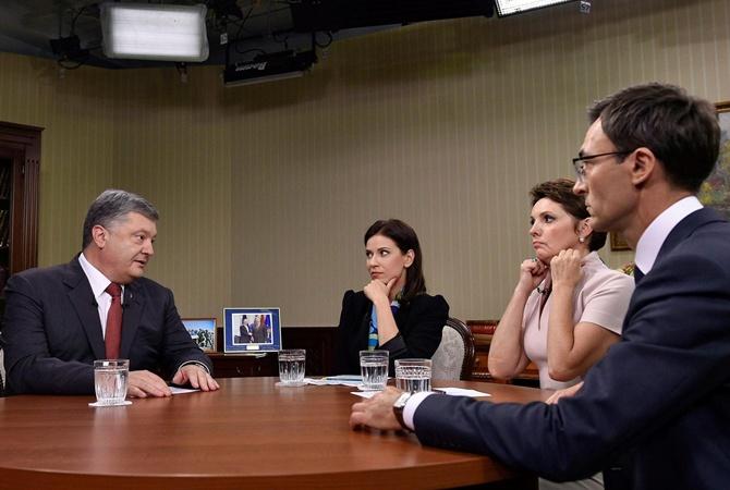 Порошенко считает «Северный поток -2» «местью Украине»