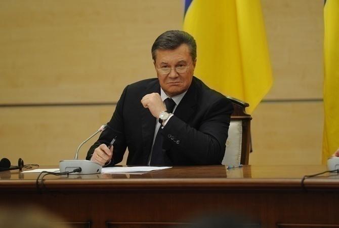 Янукович подал всуд иск озащите деловой репутации