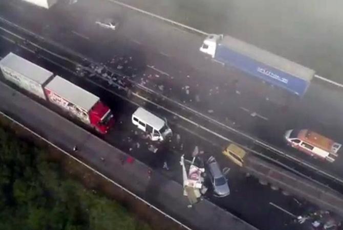 Неменее 40 авто столкнулись натрассе вБолгарии