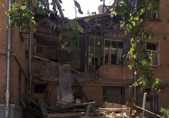 При взрыве газа вжилом доме вКиеве погибла женщина