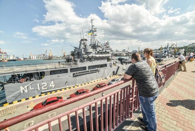 Впорт Одессы зашли турецкие корабли иподлодка
