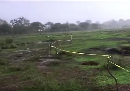 ВМексике раскалённая до250 градусов земля сварила 2-х ягнят