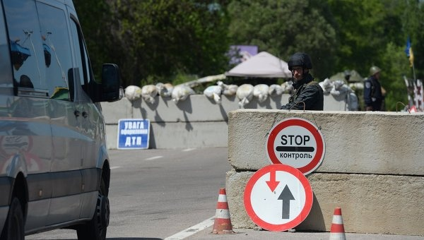 Украина сообщила озадержании вДонбассе жителя России своенным билетом