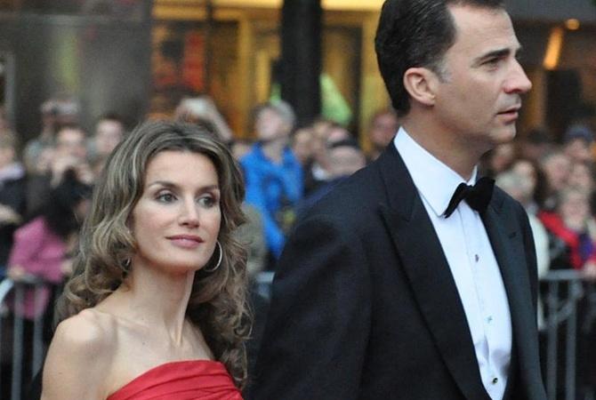 Испанская королевская семья прибывает софициальным визитом в Англию