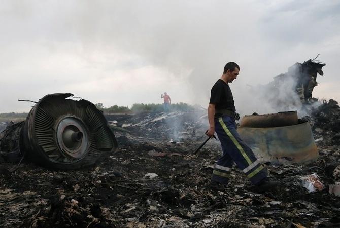 Монумент  жертвам авиакатастрофы MH-17 открыт вНидерландах