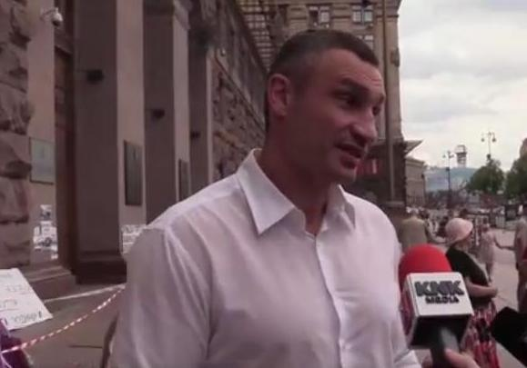 «Цежср@нь господня!» Кличко поведал осносе рынка наЛесном