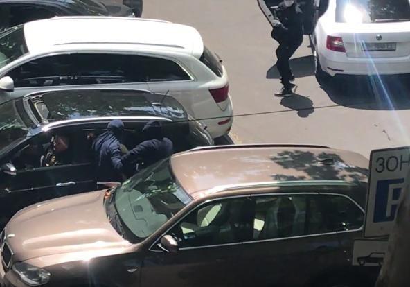 Вцентре Одессы автомобиль патрульной милиции травмировал женщину-пешехода