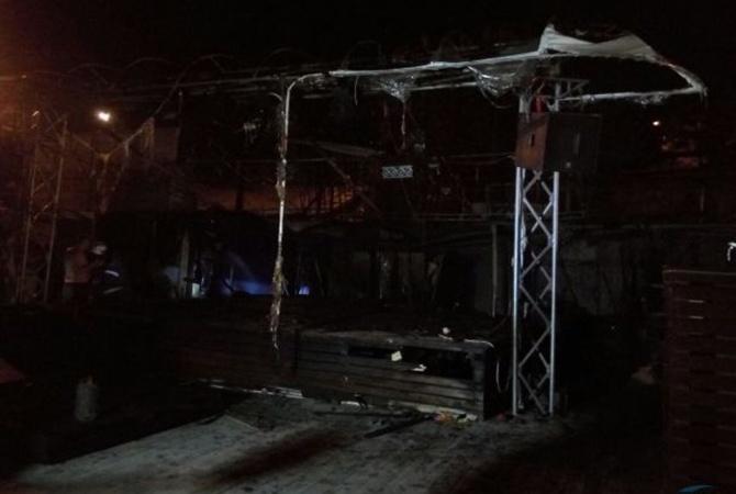 ВОдессе ночью сгорел клуб «Пляжник»