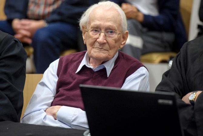 ВГермании признали здоровым для тюрьмы 96-летнего «бухгалтера Освенцима»
