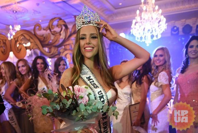Новоиспеченной «Мисс Украина Вселенная» стала 18-летняя киевлянка