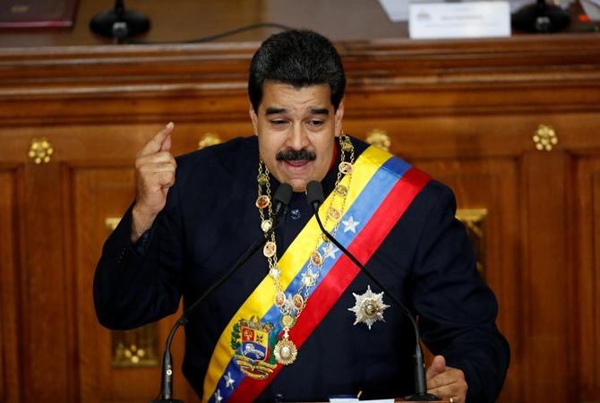 Венесуэла обвинила США в'нарушении суверенитета Николас Мадуро
