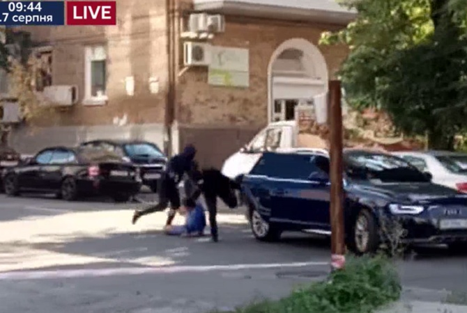 Вглобальной паутине появилось видео стрельбы вКиеве