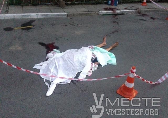 ВЗапорожье убили пенсионера, который пытался защитить свою супругу (фото 18+)