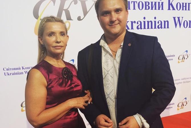 Женщина в красном: Юлия Тимошенко поправилась?