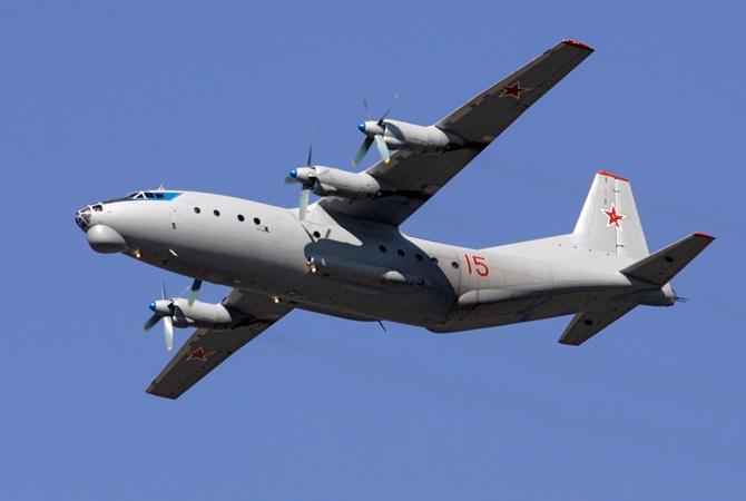 Русские военные самолеты были замечены вблизи границы Латвии