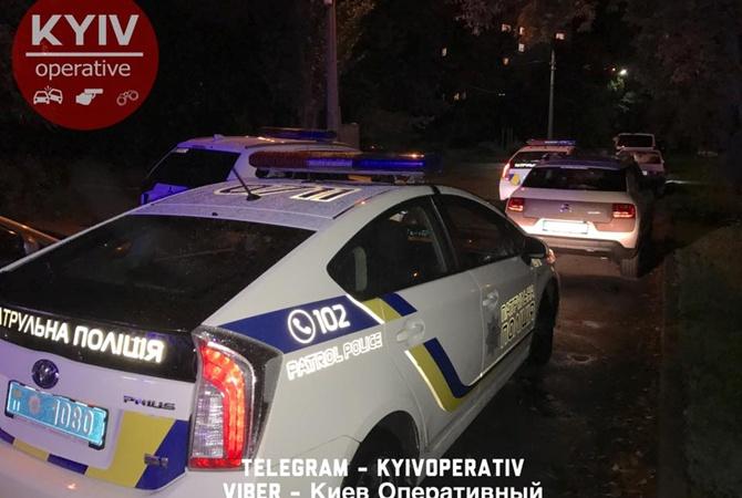 ВКиеве впарке поулице Кирилловской произошла стрельба