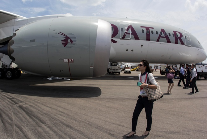Авиакомпания Qatar Airways сегодня совершит свой 1-ый рейс из государства Украины