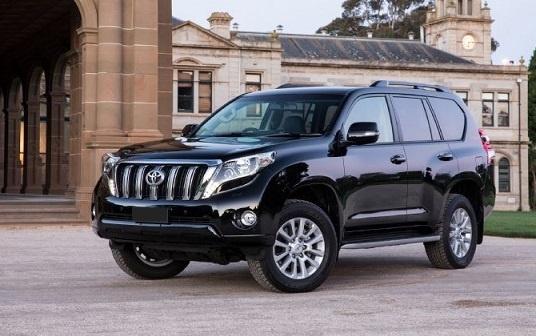 Вглобальной паутине обнародованы кадры нового Тойота Land Cruiser Prado 2018