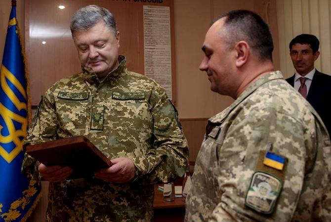 Стало известно, сколько Порошенко потратил напомощь ВСУ