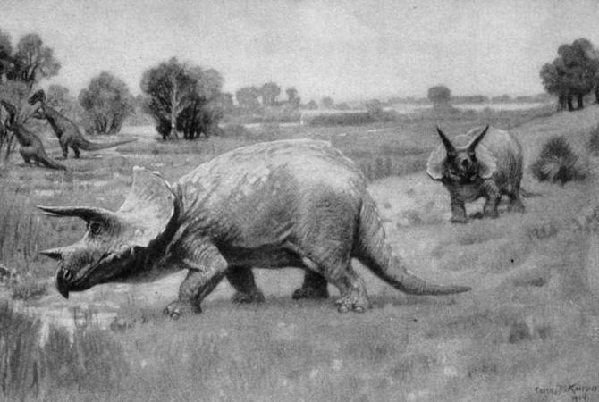 ВСША нашли останки динозавра возрастом 66 млн лет