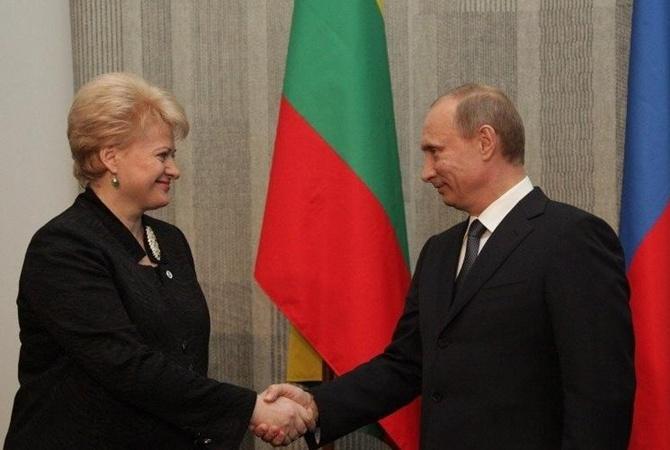 Сильный лидер: Грибаускайте дала отпор Путину иего условиям после первой встречи