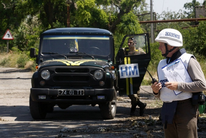 ВОБСЕ ответили напланы расположить  миротворцев ООН вДонбассе